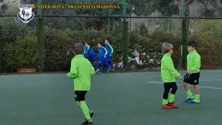 United Boys  vs  Francesco Madonna  terzo tempo  2018